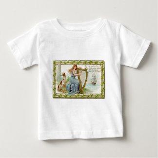 Original Saint patrick's day harp & lady Baby T-Shirt