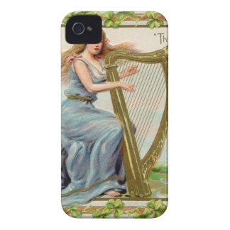 Original Saint patrick's day harp & lady iPhone 4 Covers