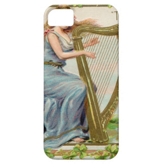Original Saint patrick's day harp & lady iPhone 5 Covers