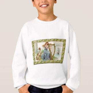 Original Saint patrick's day harp & lady Sweatshirt