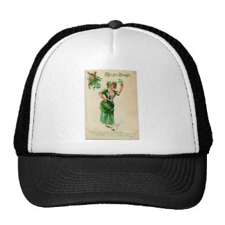 Original Saint patrick's day lady in green Trucker Hat