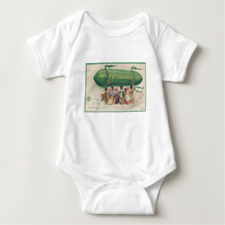 Original Saint Patrick's day vintage shamrock Baby Bodysuit