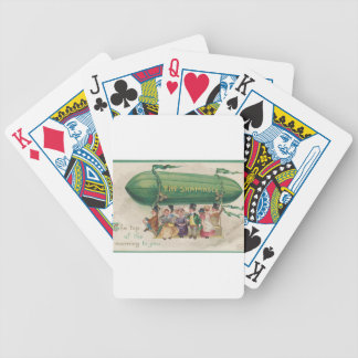 Original Saint Patrick's day vintage shamrock Bicycle Playing Cards
