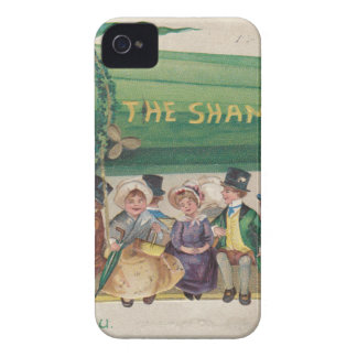 Original Saint Patrick's day vintage shamrock iPhone 4 Case-Mate Case