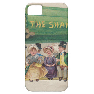 Original Saint Patrick's day vintage shamrock iPhone 5 Cases