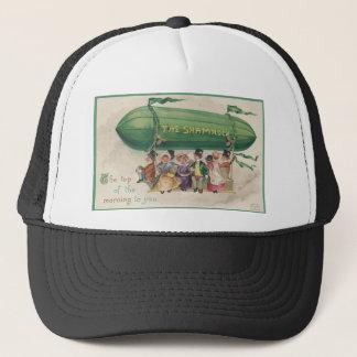Original Saint Patrick's day vintage shamrock Trucker Hat