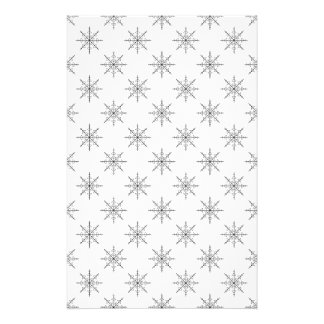 Original Snowflake Pattern Stationery