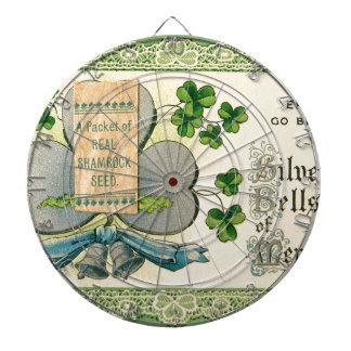 Original St Patrick's day vintage irish draw Dartboards