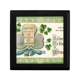 Original St Patrick's day vintage irish draw Gift Box