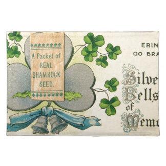 Original St Patrick's day vintage irish draw Placemat