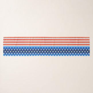 Original stylised Patriotic American Flag Scarf
