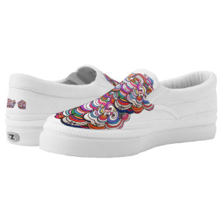 Original Swirly design Slip-On Sneakers