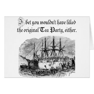 Original Tea Party Greeting Card