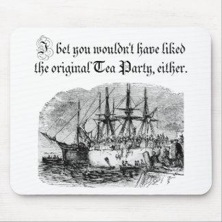 Original Tea Party Mouse Pad