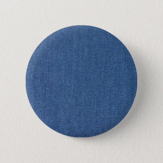 Original textile fabric blue fashion jean denim 2 inch round button
