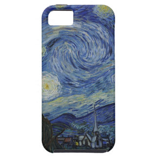 Original the starry night paint iPhone 5 covers