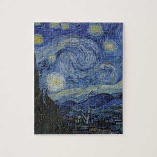 Original the starry night paint jigsaw puzzle