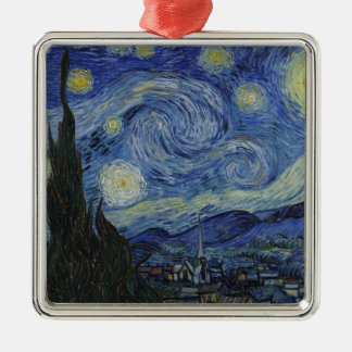 Original the starry night paint metal ornament