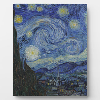 Original the starry night paint plaque