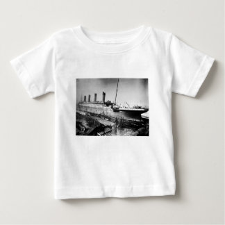 original titanic picture under construction baby T-Shirt