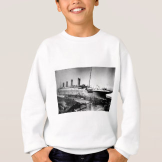 original titanic picture under construction sweatshirt