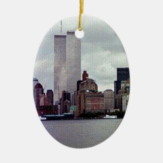 Original Twin Towers Ceramic Ornament