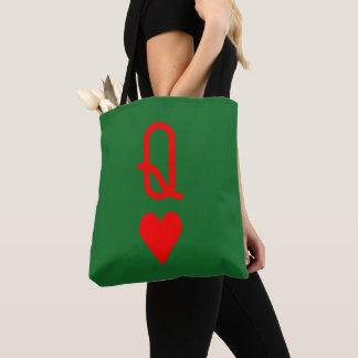 Original Valentine's Day Queen of hearts Tote Bag