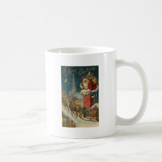 Original vintage 1906 Santa clous poster Coffee Mug