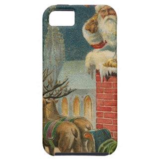 Original vintage 1906 Santa clous poster iPhone 5 Case