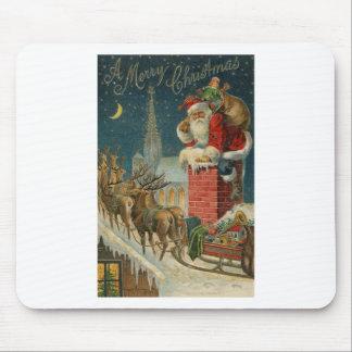Original vintage 1906 Santa clous poster Mouse Pad