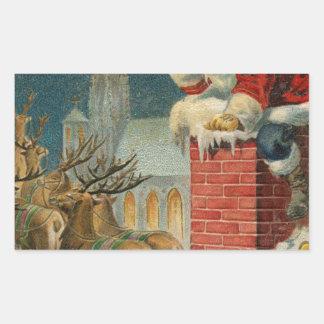 Original vintage 1906 Santa clous poster Sticker