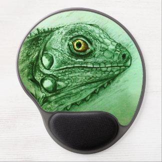 Original vintage art gel mousepad - Iguana