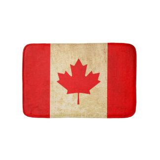 Original Vintage Patriotic National Flag of CANADA Bath Mat