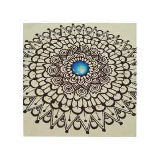 Original Wooden Mandala Hanging art