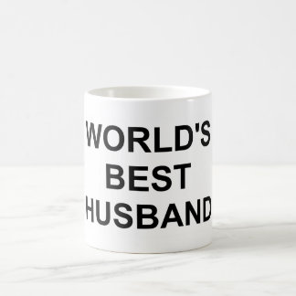 Original World's Best Husband Classic White Coffee Mug