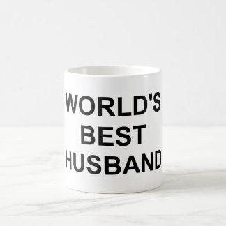 Original World's Best Husband Basic White Mug