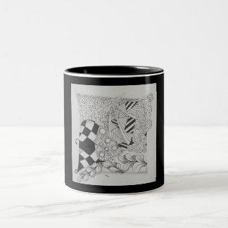 Original Zen Design Black and White Mug