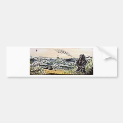 Origins and Destinations - Custom Print! Bumper Sticker