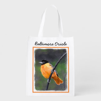 Oriole Reusable Grocery Bag