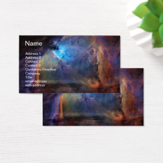 Orion Bathed in Blue Business Card