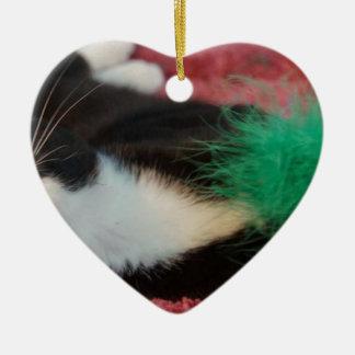 Orion Ceramic Heart Ornament