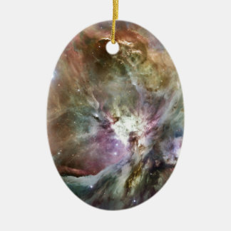 Orion Ceramic Oval Ornament