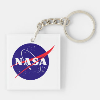 Orion Crew Module Double-Sided Square Acrylic Keychain