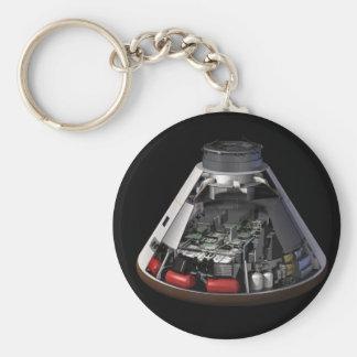 Orion Cutaway Basic Round Button Keychain