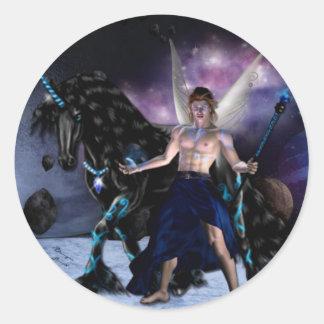 Orion Fairy wizard Classic Round Sticker