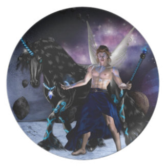 Orion Fairy wizard Plate