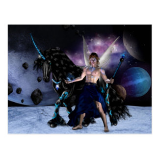 Orion Fairy wizard Postcard