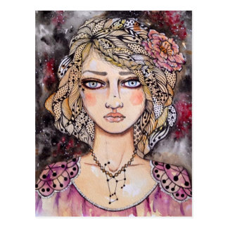 Orion Girl Postcard