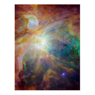 Orion in Infrared Postcard