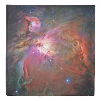 Orion Nebula (2 sides) Queen Duvet Cover